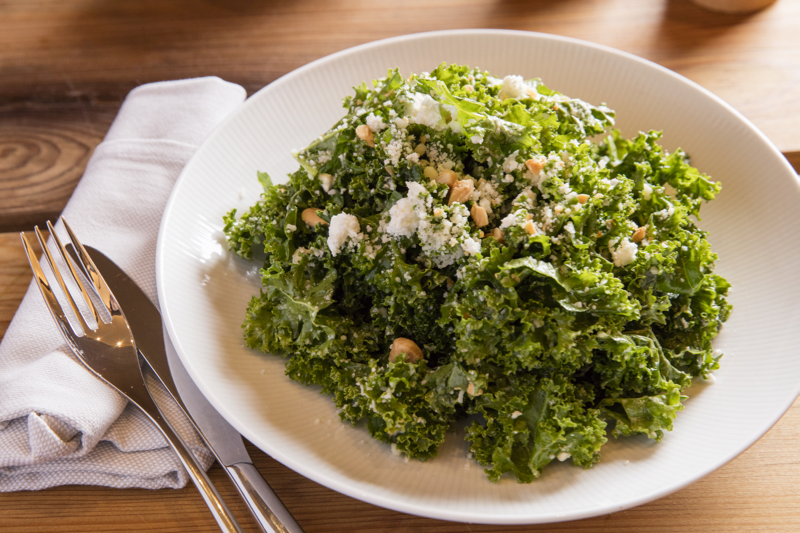 GREY SALT KALE SALAD