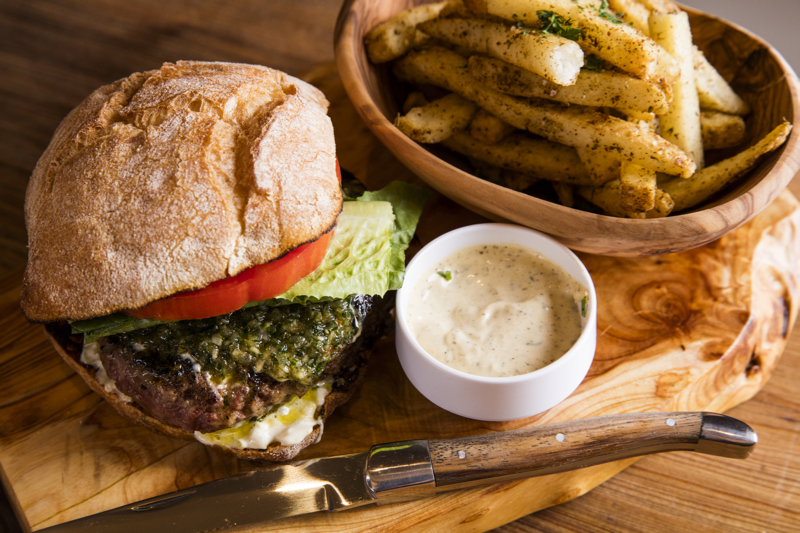 GREY SALT LAMB BURGER