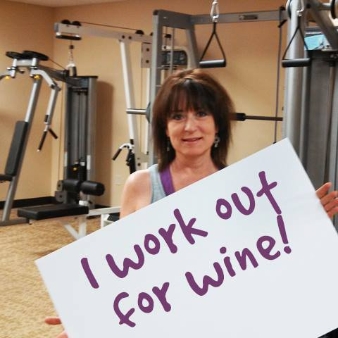 One of our favorite reasons to work out. Enjoy guilt-free after working out with Judy!