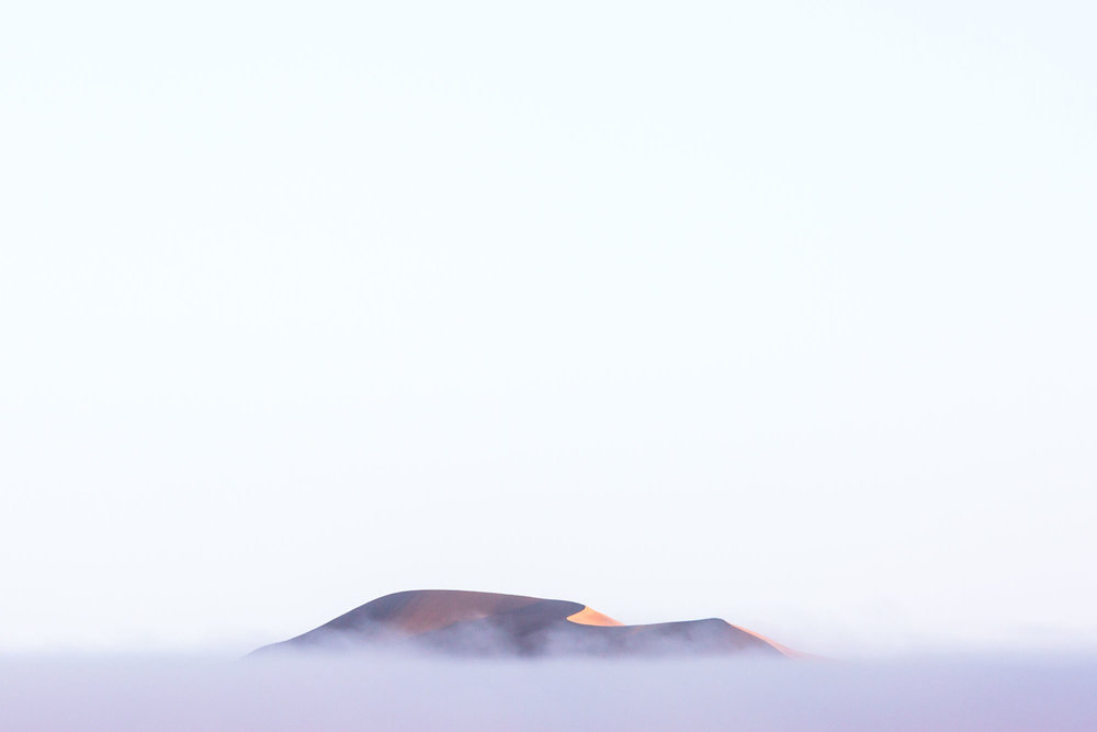 Fog events are a regular occurance in the Namib Desert.