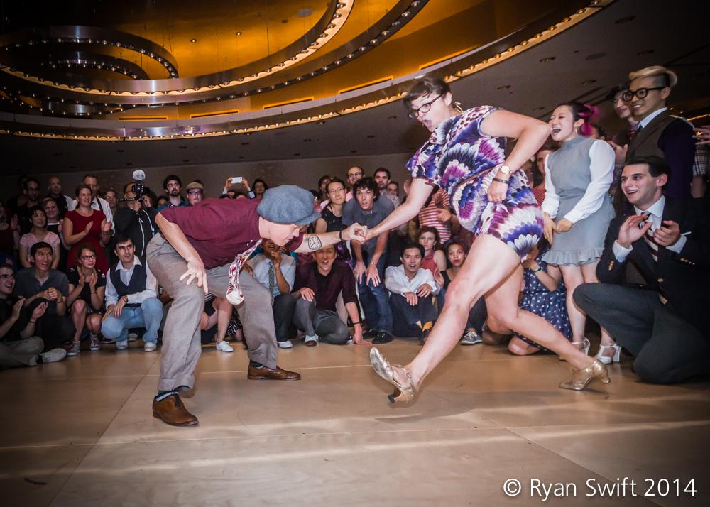 Nina Gilkenson & Andy Reid at ILHC 2014