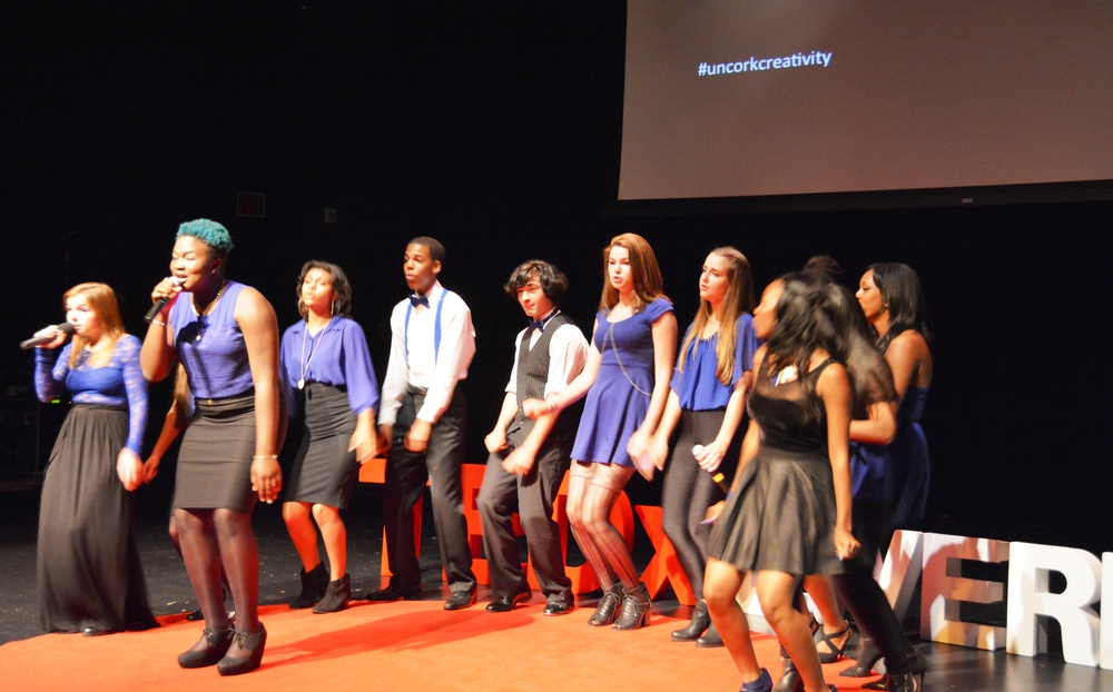 Vocal Rush performing at TEDxLivermore 2014