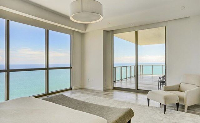 The ultimate bedroom #view from this 4,609 SF 4 bedroom 6 bathroom unit in the Mansions at Acqualina. The unit features a chef's kitchen, custom closets and Fendi Casa interiors along with oversized balconies complete with a summer kitchen and private jacuzzi. It is currently listed for $7,995,000. #SunnyIsles #MansionsAtAcqualina #LuxuryRealEstate #MiamiRealEstate • • • For more information buying, renting or selling real-estate in Miami head to DemetriDemascusMiami.com Call/ Text: 203-252-7201