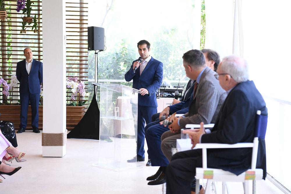 Demetri Demascus, Dana Goldman, Edgardo Defortuna, Jorge Guerra Jr, & Boris Kozolchyk speaking8.jpg
