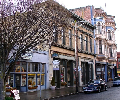 Art galleries, antique shops, rare book shops, Victorian ice cream parlors, shopping, and much more.