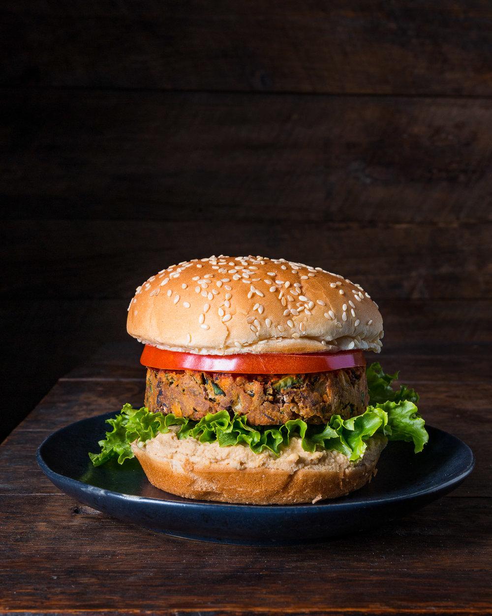 Chipotle Bean Burger