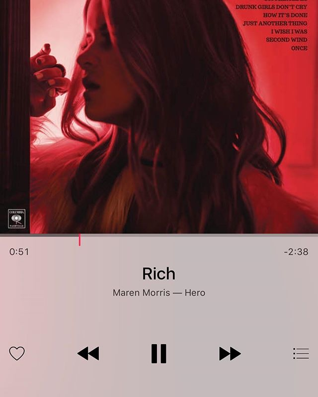 Yeah, it's just that good!! I'm a fan @marenmorris #music #breathoffreshair