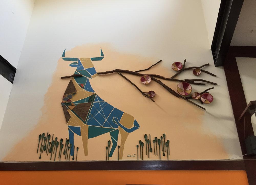 Bull Mural