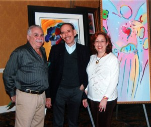 Mark & Randi Jaffe with Peter Max