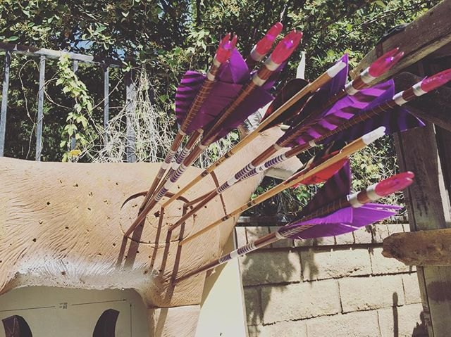 #morning #archery before going to a #meeting. Loving #shooting the #Airshipin Arrows @spartanhunter made for me. If you want great arrows. Check out his #work. #Airshipenoch