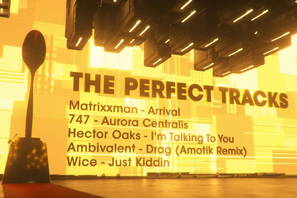 747 wins the Perfect Track award from the Raving Spoon for his song Aurora Centralis.