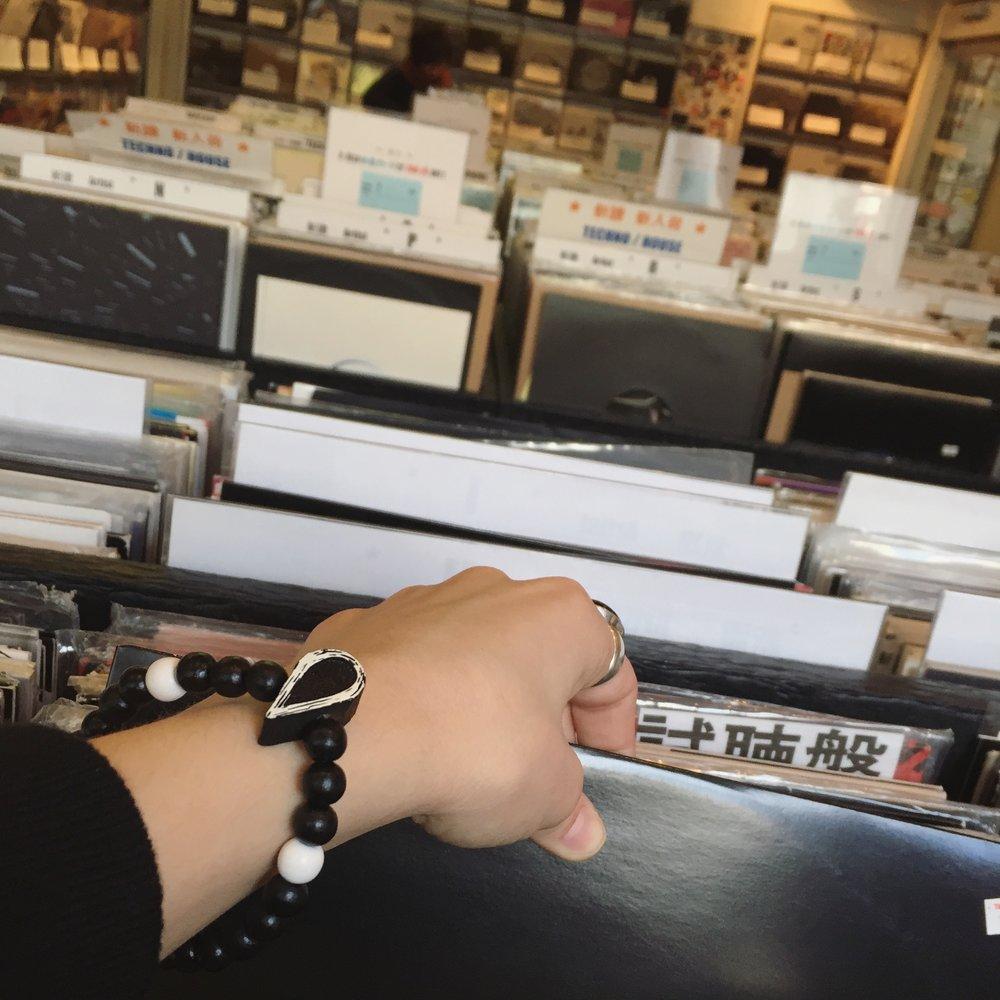 Aquaregia x Good Wood NYC Wooden Bracelet