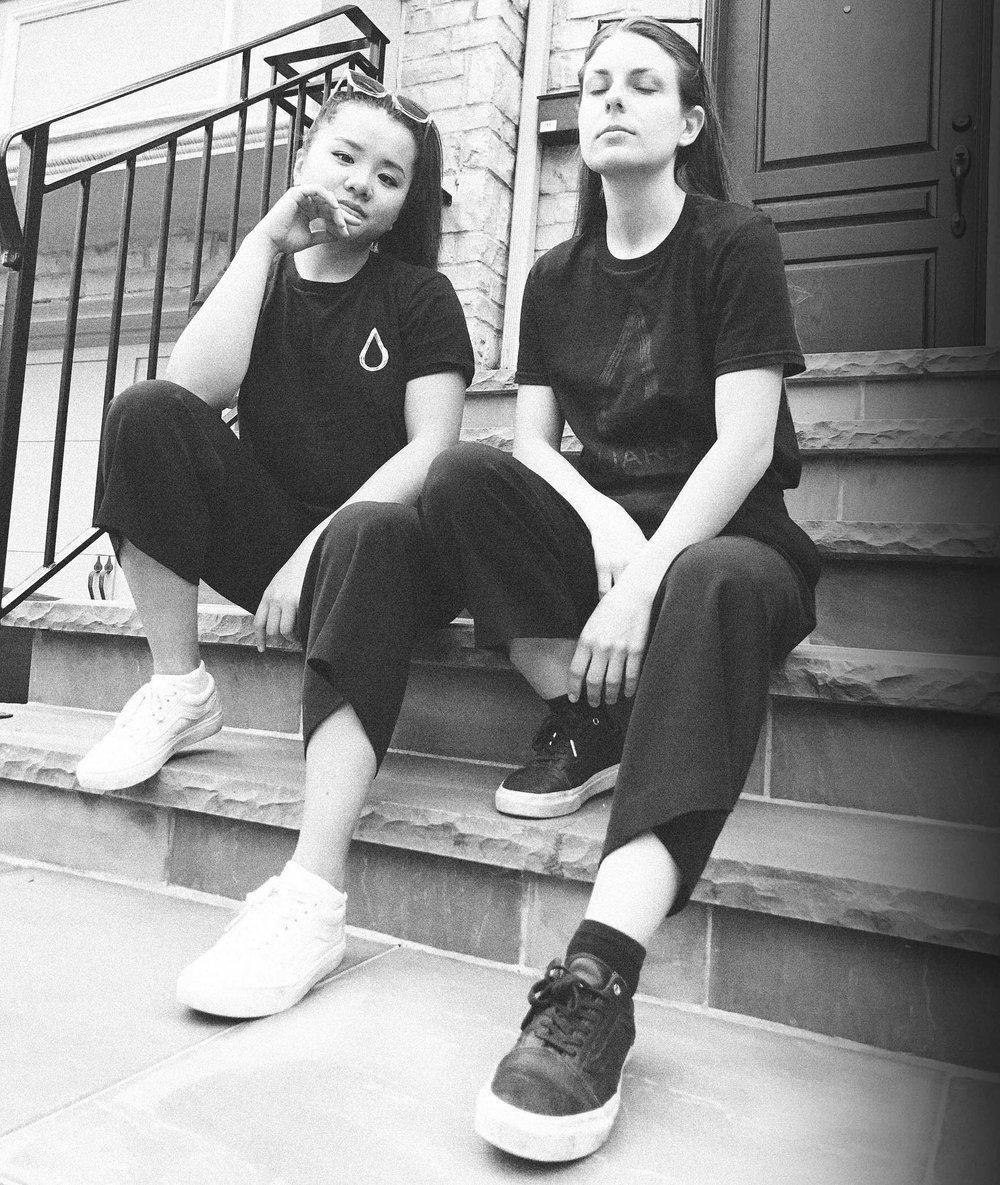 Classic and Black on Black Aquaregia T-Shirts