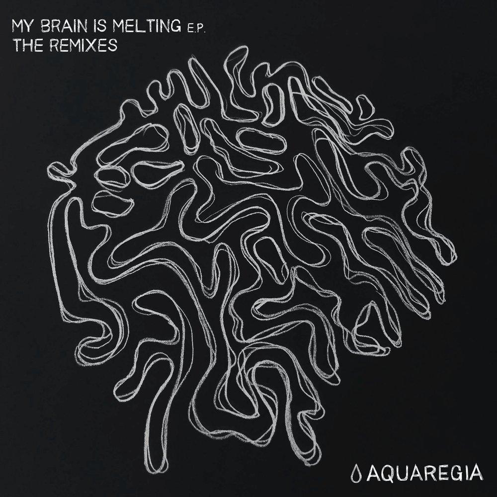 747 - My Brain Is Melting Remixes [Aquaregia 004]