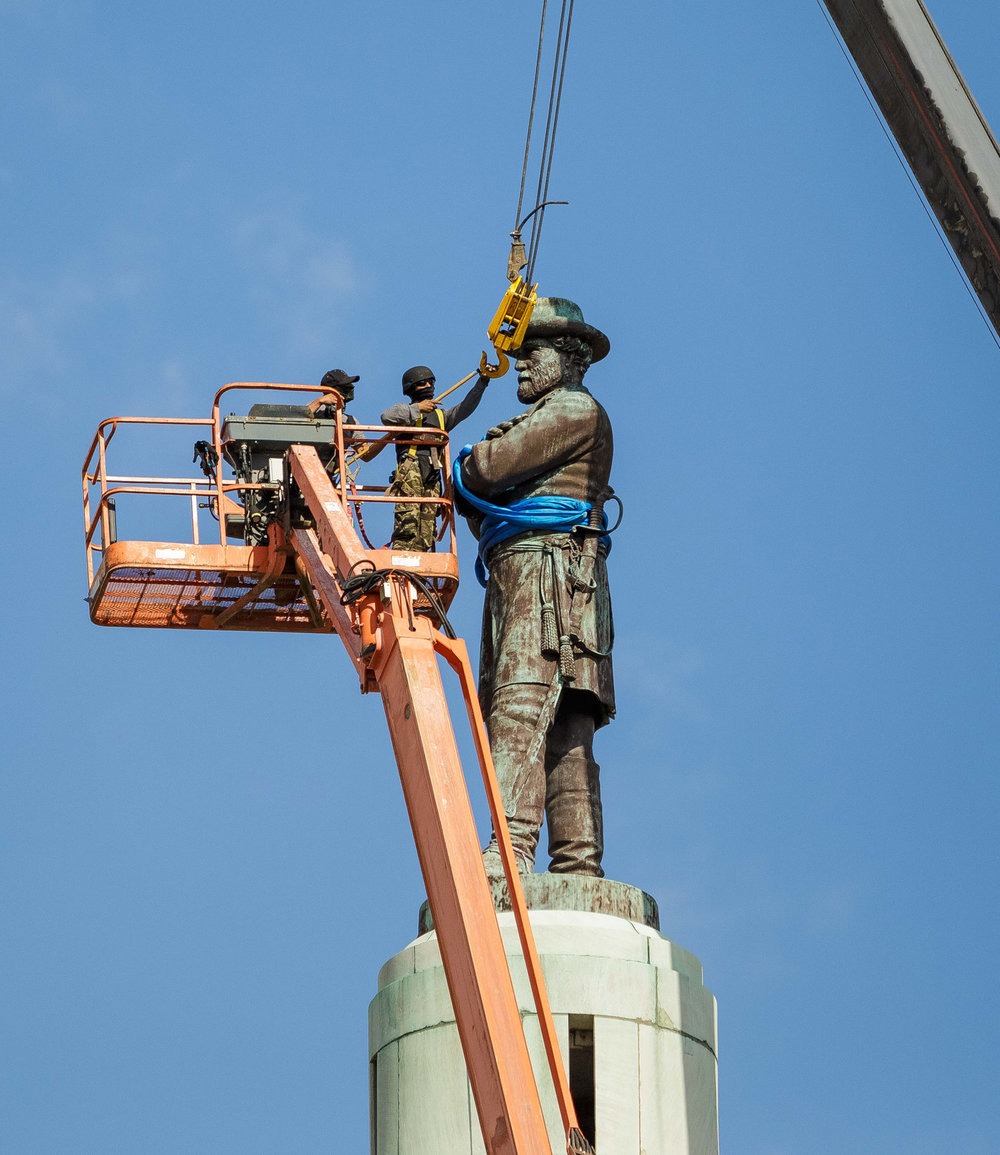 Removal of Robert E. Lee Monument