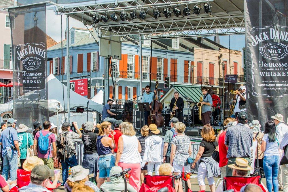 The Catahoulas- French Quarter Fest