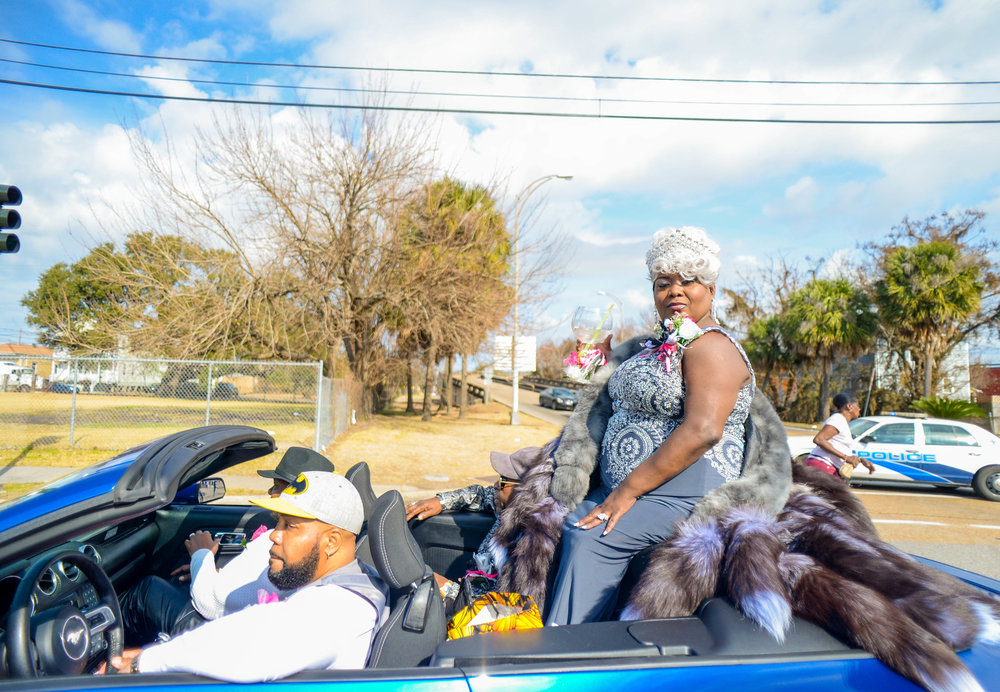 Undefeated Divas Second Line Parade 2018