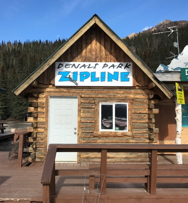 Denali Park Zipline tour office