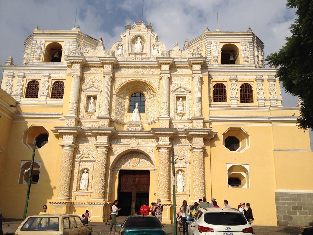 La Merced in Antigua, Guatemala