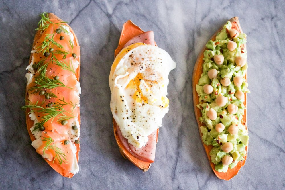 A Toast to Spring: a sweet potato toast, that is. - Recipe development, food styling, photography, blog and social content