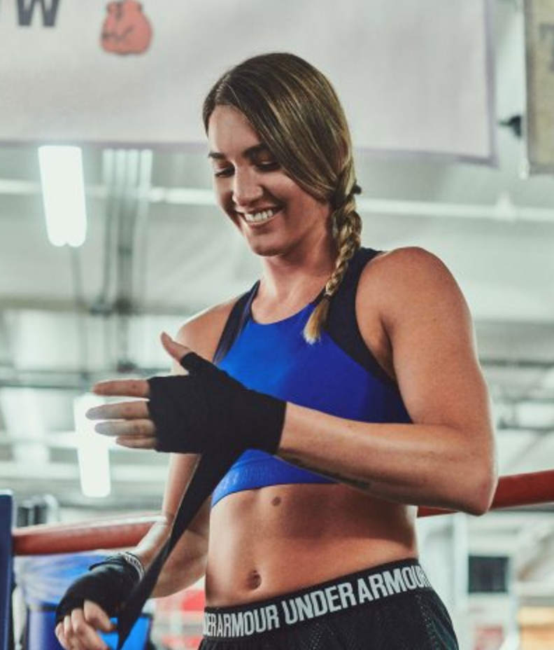 Pro Boxer Mikaela Mayer: Paving the Way for Women in the Ring - Interview, blog post, and social media
