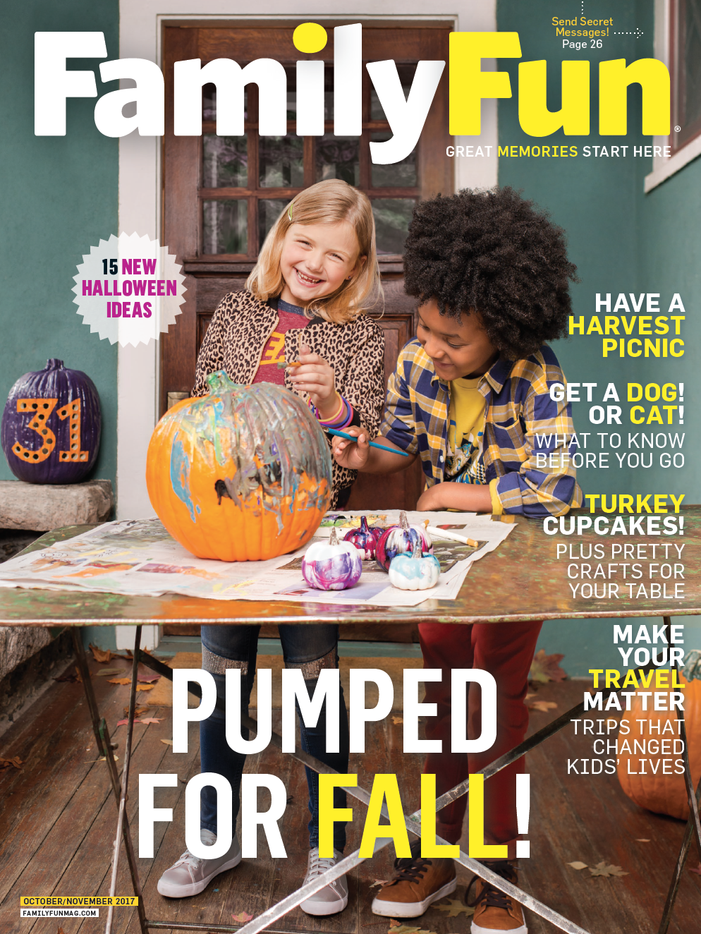 FamilyFun Oct/Nov 2017