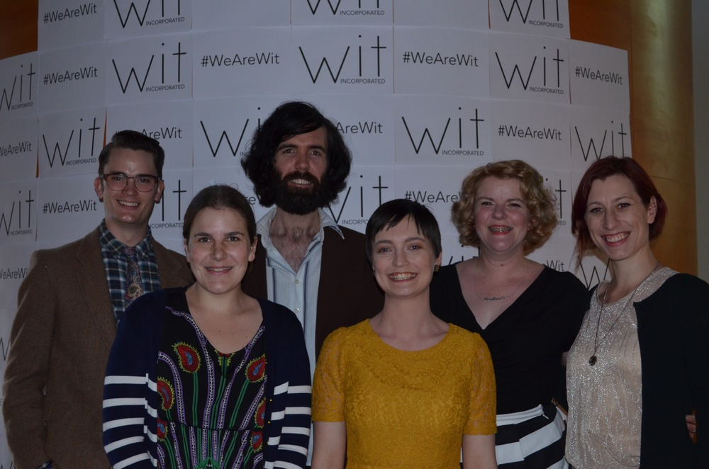 (L-R) Matthew Dorning, Hayley Lawson-Smith, Nathaniel Moncreiff, Belinda Campbell (Artistic Director), Jennifer Piper (Company Manager) and Jennifer Innes are among the writers and directors of Season 2016