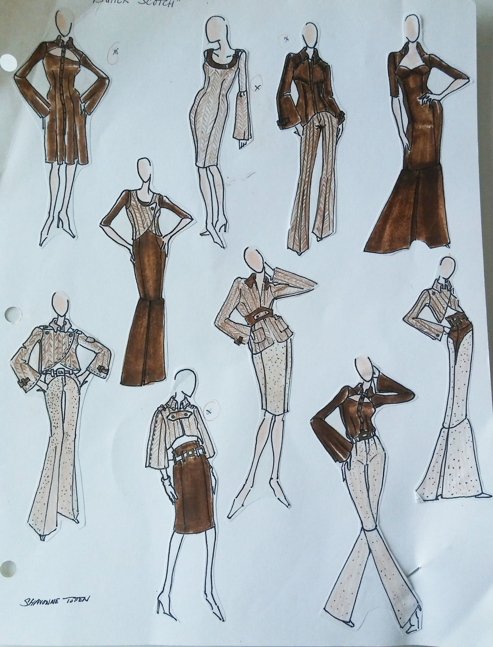 Fashion Illustrations 2006