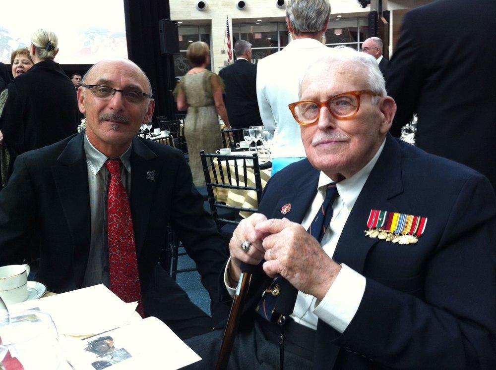 Steve La Hood and Norman T. Hatch in 2011