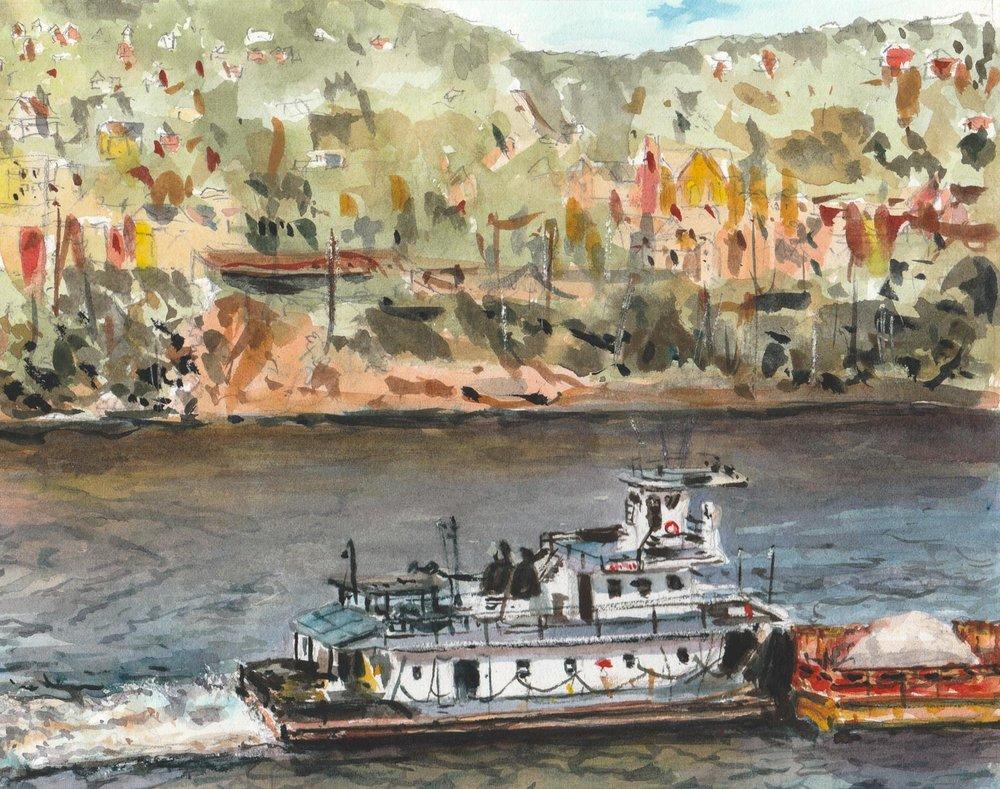 Braddock Barge