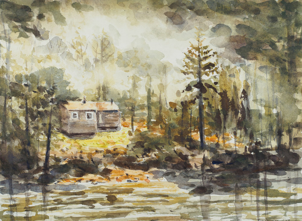 Cabin Along the Allegheny