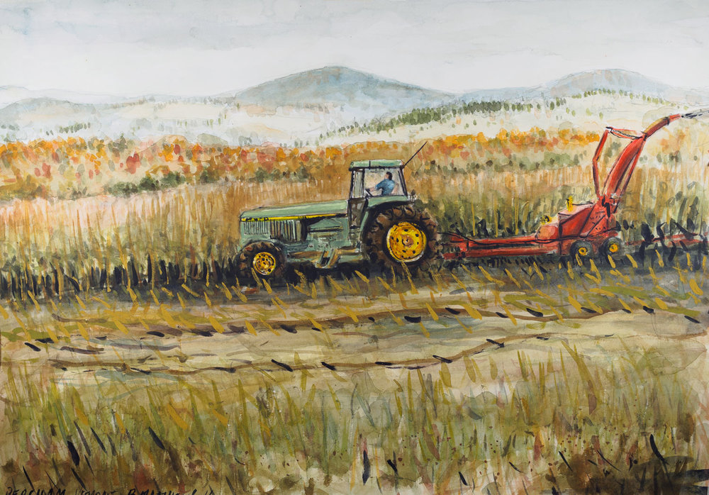 Farmer, Peacham, Vermont