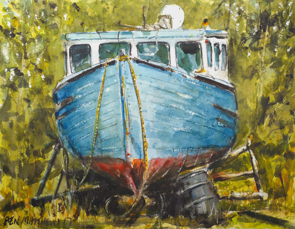 Old Boat, Dingwall, Nova Scotia