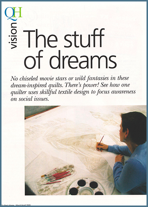 Special Feature: Quilter's Home Magazine, March / April 2008