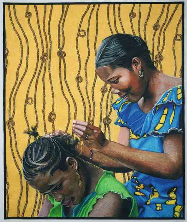 The Beauty Shop  (print available)
