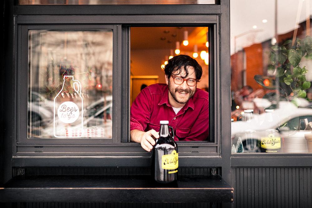 b-Roll no. 226 - Joshua Van Horn, Gold Star Beer Counter