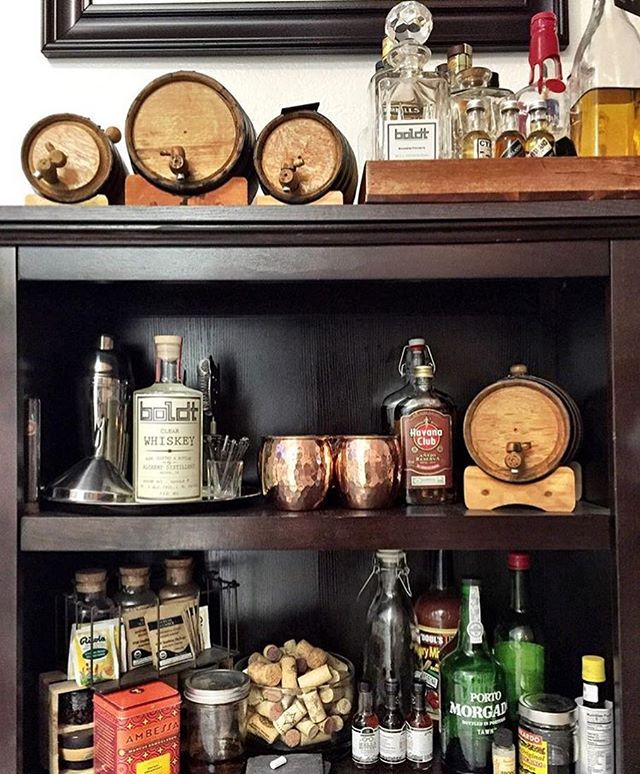 Holidays are coming.  Time to get your bar ready!  #buyoakbarrels #americanmade