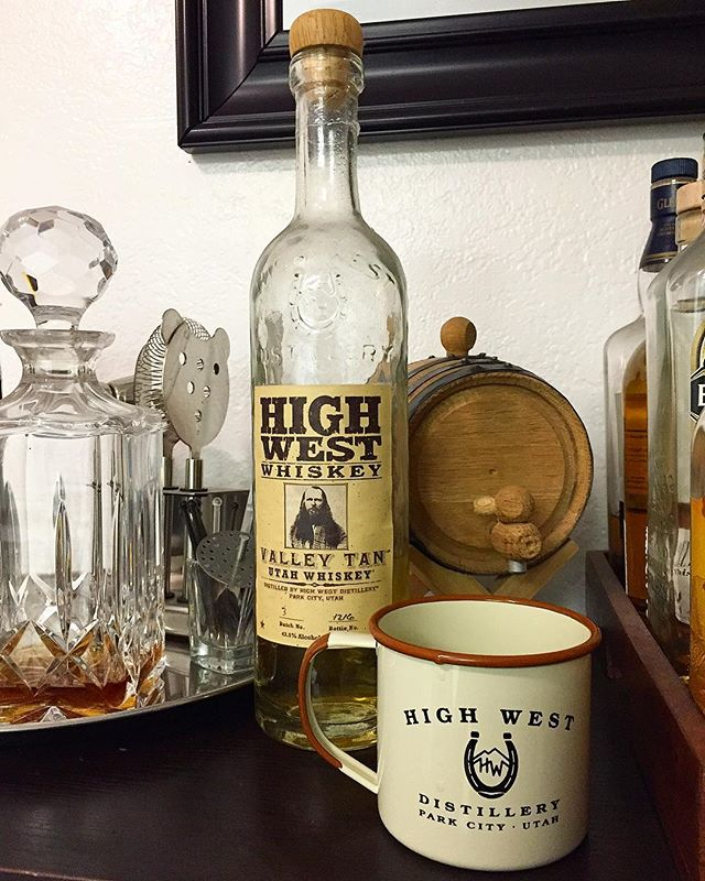 Cheers to #whiskeywednesday.  @drinkhighwest #buyoakbarrels