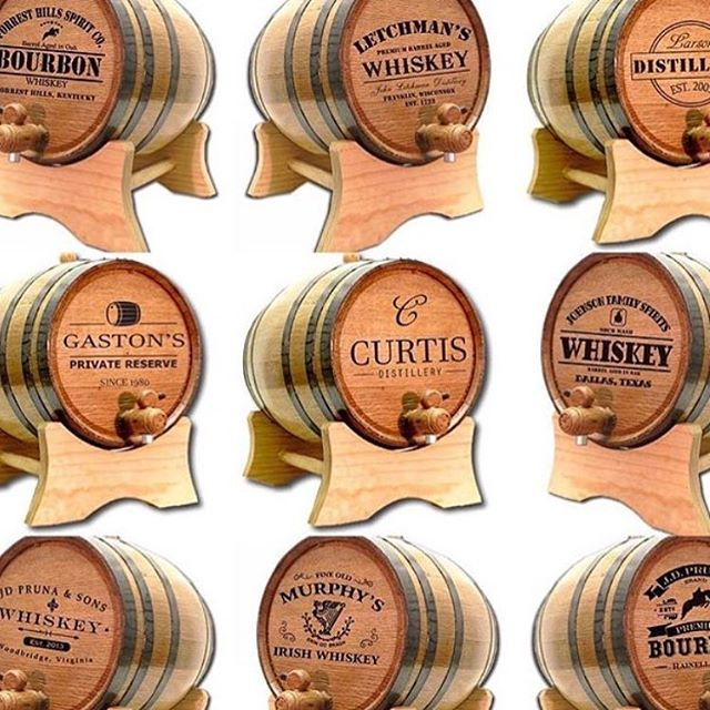 Add a personalized barrel to your list.  #buyoakbarrels