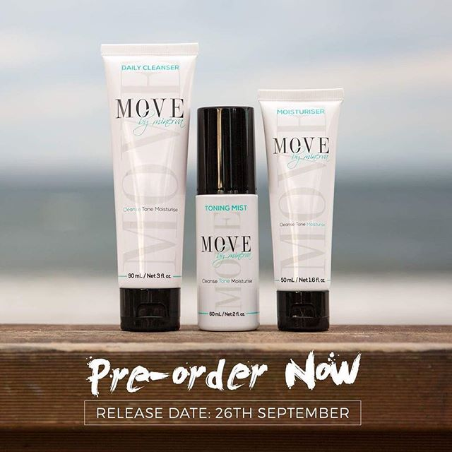 @movebyminerva  We are LIVE LIVE LIVE💃🏻💃🏻💃🏻 I can't believe we have finally made it🤗 Waaahhhoooo!!! Yayyy!!! Yippee!!!!😆 I'm sooooo excited for you gorgeous humans to try this skincare range🙋🏼 (haha yes boys can use it to🙊)! It's all natural, cruelty free, and designed specifically for all you fit babes💁🏼 First orders will be shipped on Monday the 26th September🛍 I seriously can't wait to hear all the feedback! It's the perfect compliment to good nutrition, an active lifestyle and a happy mindset because everyone deserves glowing skin🌿  Click on the link in my bio loves and go follow @movebyminerva  The simple 3-step system is only $99 (Aussie dollars)....Also shipping to US, UK and NZ💗