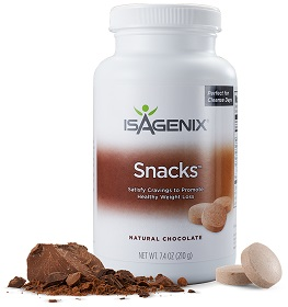 Snacks - Think 'Ovalteenies' hahaThese are mini chocolate snacks that help keep your blood sugar balanced during the fast, and a perfect balance of nutrients to help naturally satisfy your appetite.