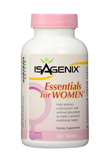 Women's Essentials - The essentials are a multi-vitamin that is formulated specifically for women and includes five kinds of calcium for strong bones, breast health, and healthy hair, skin, and nails.