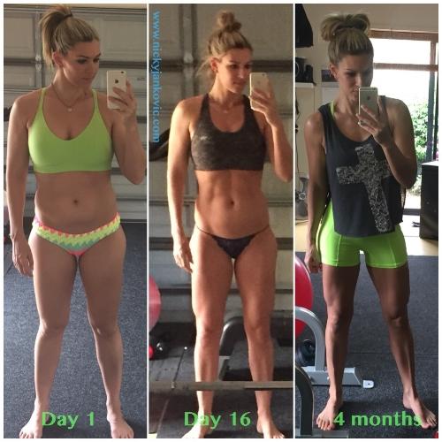 My personal health transformation.