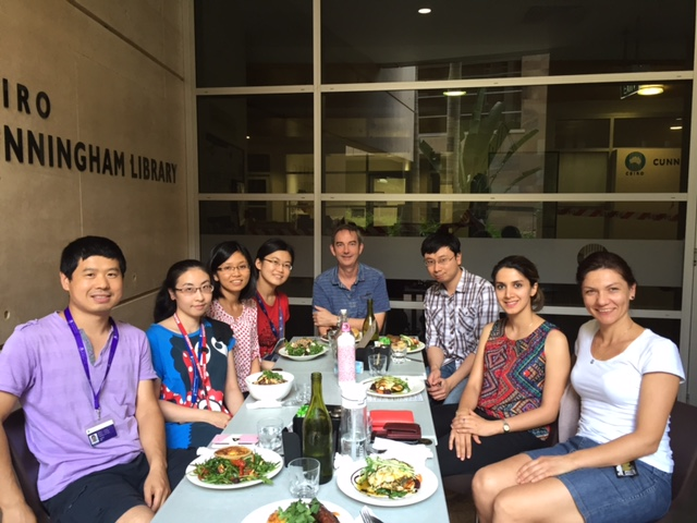 Lab Lunch November 25th 2015