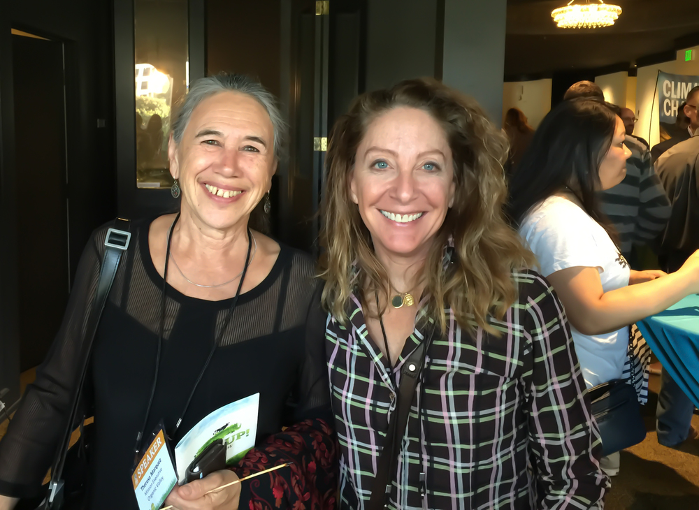 Theresa Marquez, Organic Valley Mission Executive, and Julie Ann Fineman, Founder of Peak Plate.