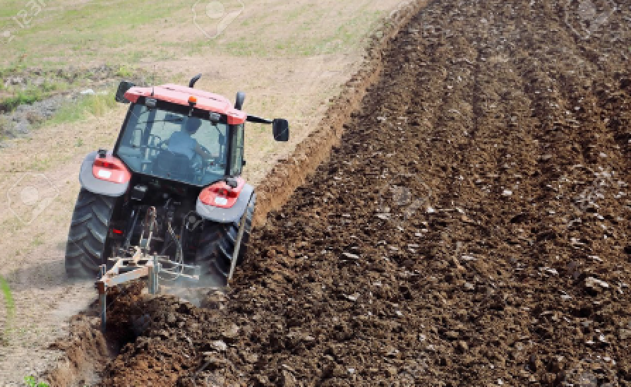 Current farming practices cause soil degradation and erosion.   Photo provided by Spencer Smith