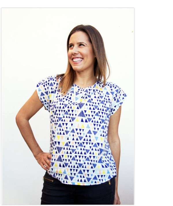 Bondi Top - Level: Confident Beginner. You feel comfortable on your machine and can maintain an even seam allowance. A great first garment!