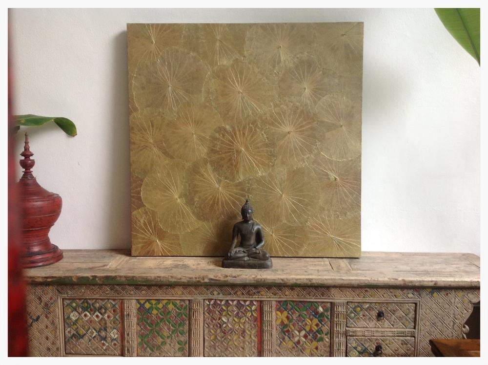 HI-D005 Buddha & Antique Credenza.jpg
