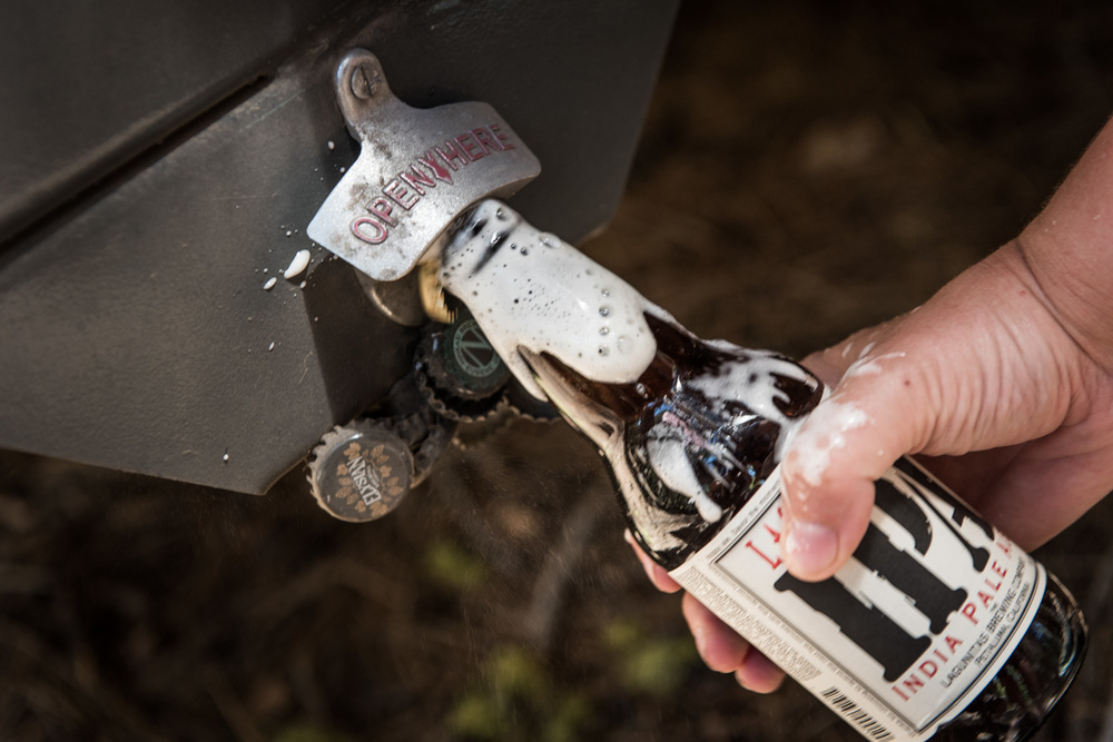 Making good use of our bumper bottle opener