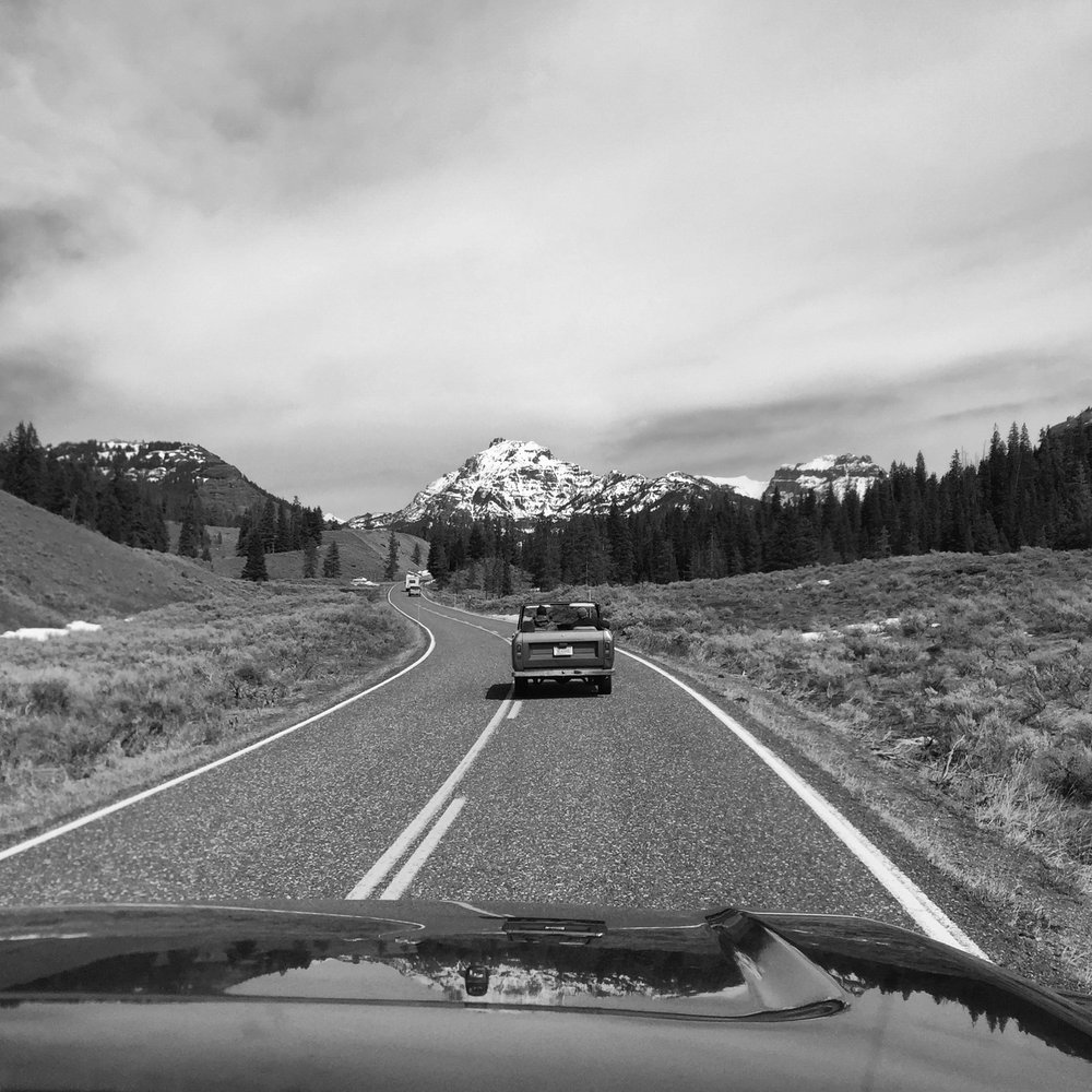 Road-tripping through Yellowstone (Heather - iPhone)